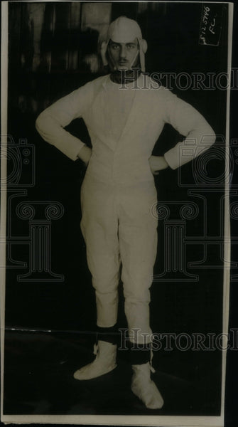 1915 Man in Paper Suit - Historic Images