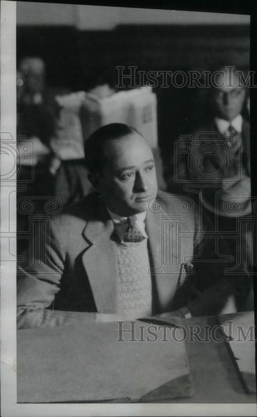 1928 Jacob Berman Indicted Bribery - Historic Images