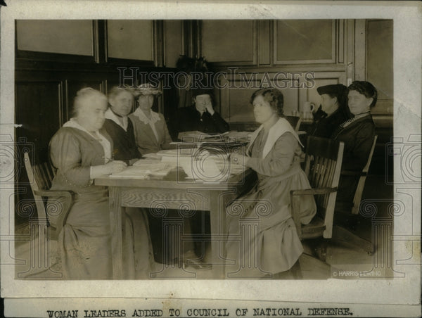 1917, Woman Leaders Council National Defense - RRU31919 - Historic Images