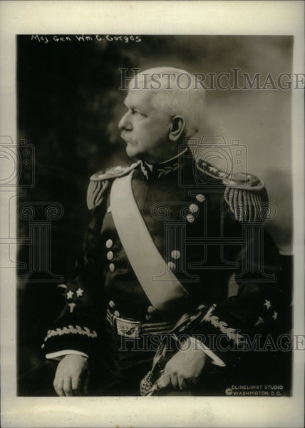1920 Major General William surgoen Peru - Historic Images