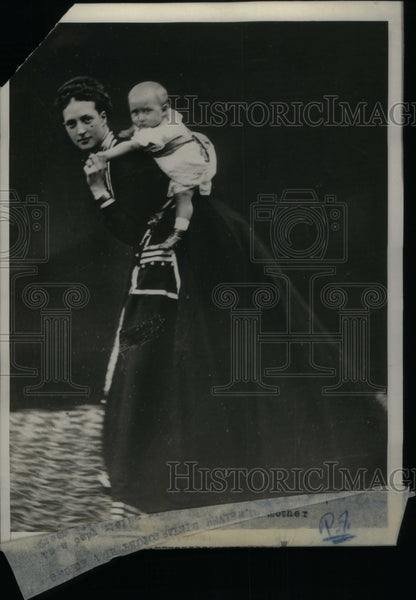 1928 Alexandra Denmark wife Edward VII - Historic Images