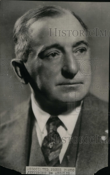 1928 Jefferson De Angelis Opera Actor - Historic Images