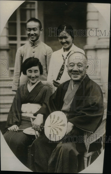 1926 Japanese Ambassador To The U.S. - Historic Images