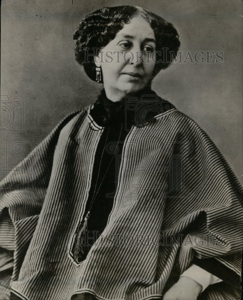 1928 George Sand Novelist French - Historic Images