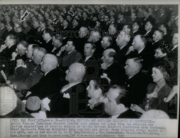 1945 United Nations Security Conference - Historic Images