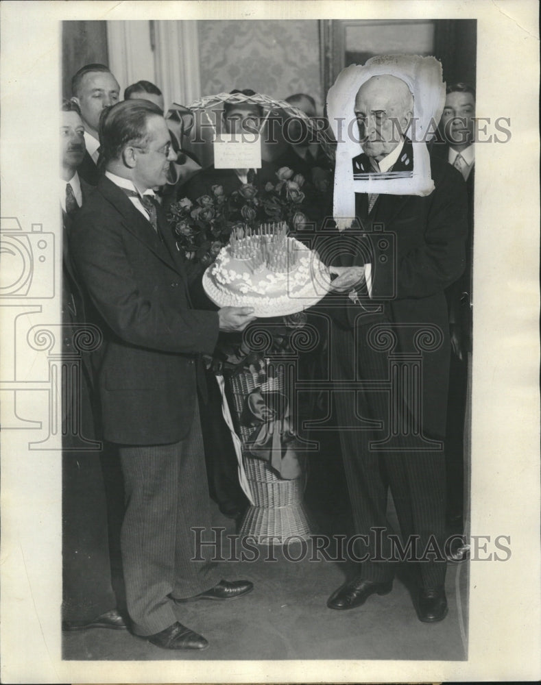 1927, Chauncey Depew 93rd Birthday - RRV07295 - Historic Images