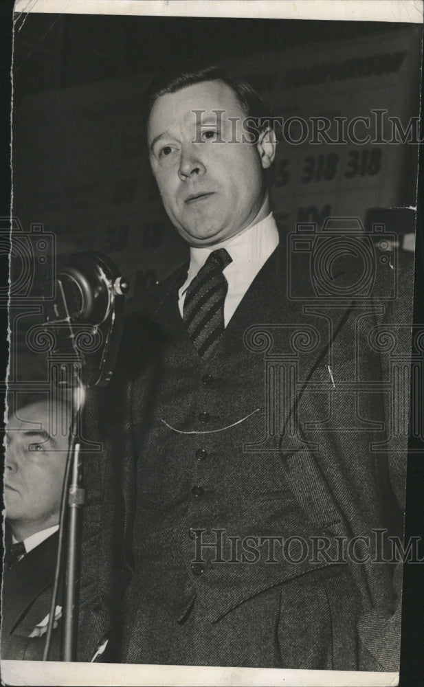1942 Press Photo Walter Reuther,labor leader - Historic Images