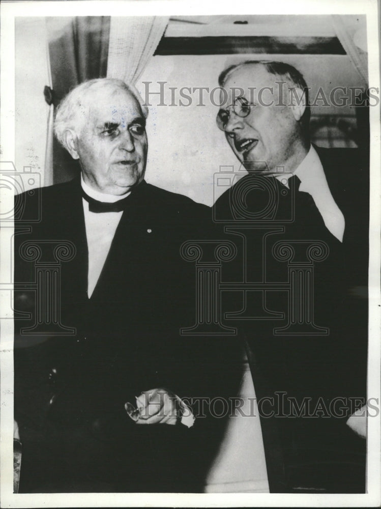 1936 Press Photo William Green Labor Federation Leader - Historic Images