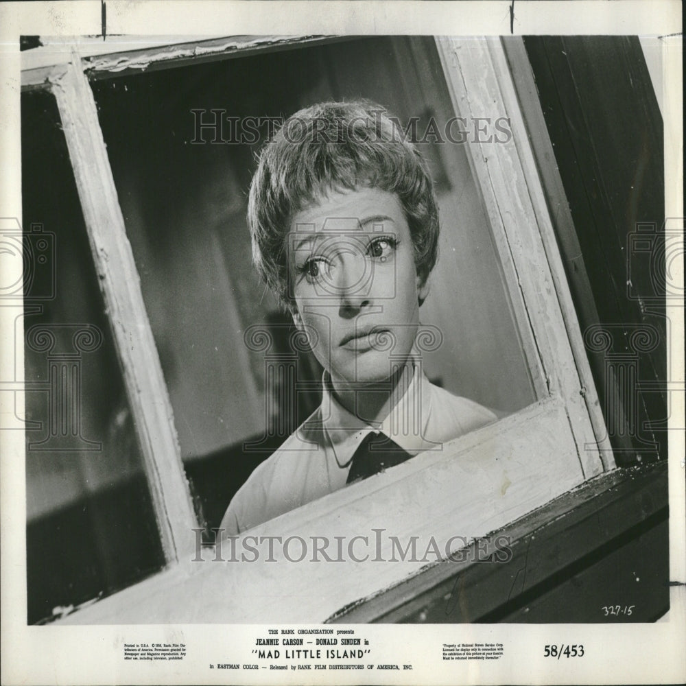 1959 Press Photo Jeannie Carson/British Actress/Comedy - RRV28615 - Historic Images
