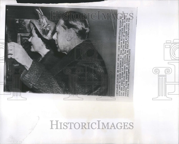 1951 Press Photo England Royalty King George VI - RRV48529 - Historic Images