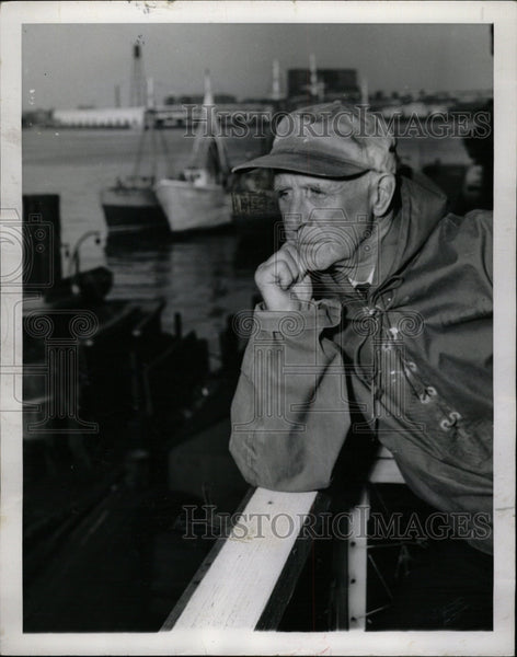 1954 Press Photo Donald B. MacMillan American Explorer - RRW11813 - Historic Images