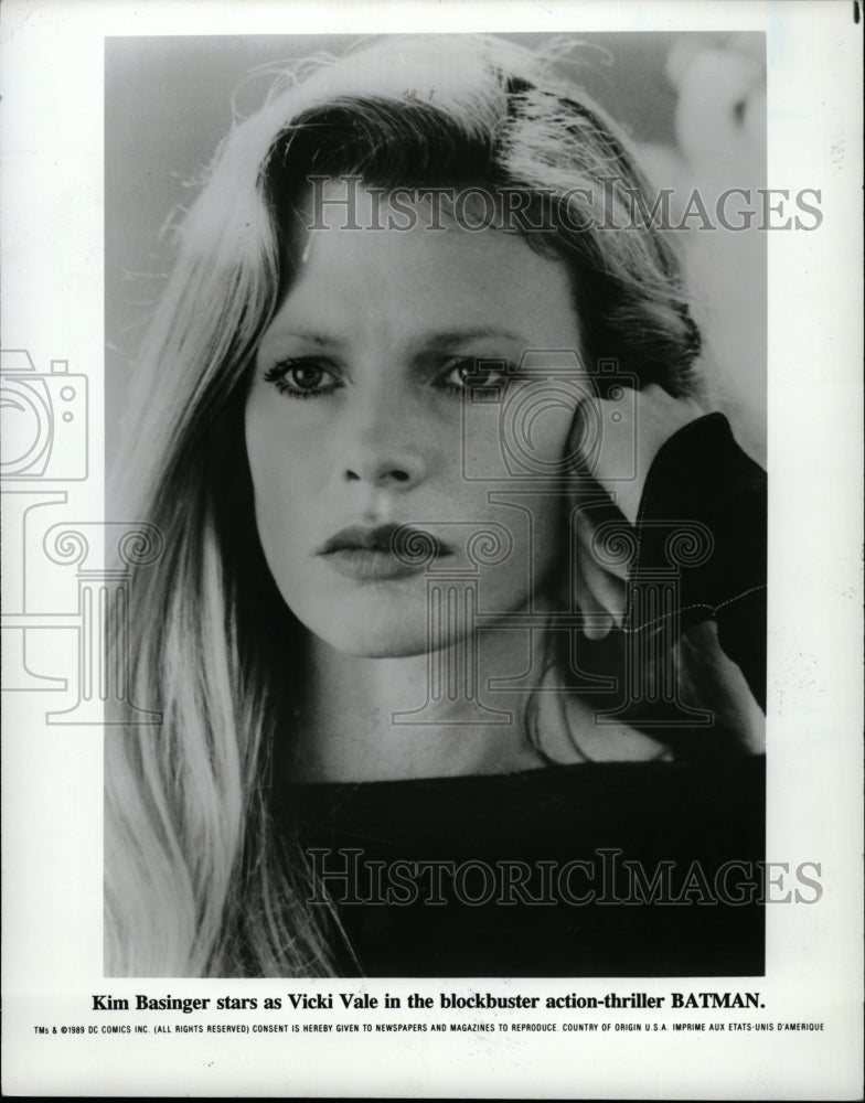 1992 Press Photo Kim Basinger Actress Batman - RRW26199 - Historic Images