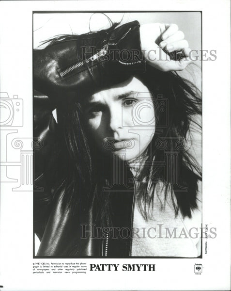 1988 Press Photo Patty Smyth American rock John McEnroe - RRW31709 - Historic Images