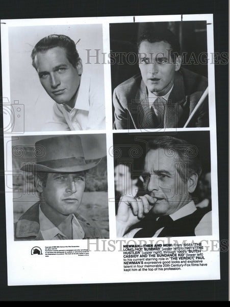 1990 Press Photo Paul Newman American Actor. - RRW32675 - Historic Images