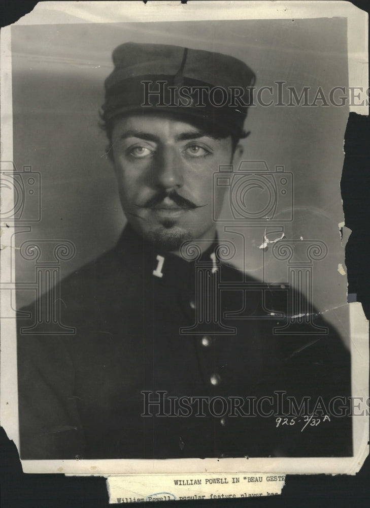 1926 Press Photo William Powell US Actor Beau Geste - RRW36777 - Historic Images