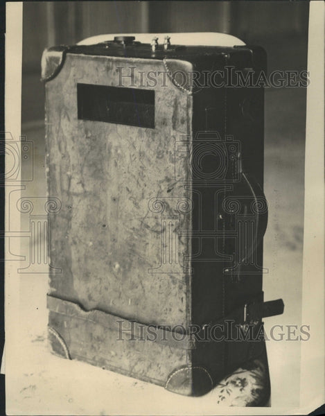 1922 Press Photo The Sitging Valise - RRW51073 - Historic Images