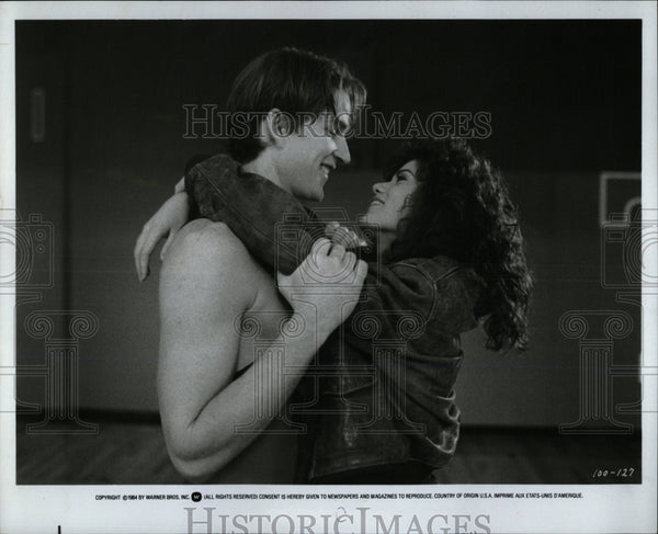Press Photo Matthew Modine and Linda Florentino Co-Star - RRW60773 - Historic Images