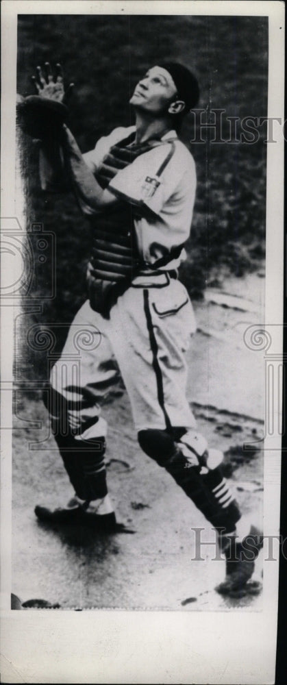 Press Photo Walker Cooper American Baseball Player - RRW73675 - Historic Images
