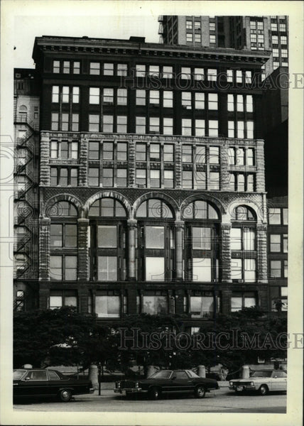 1919 Press Photo Finen Art Building Michigan Studio - RRW74631 - Historic Images