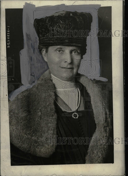 1921 Press Photo Picture of Mrs. Evans Hughes. - RRW74839 - Historic Images