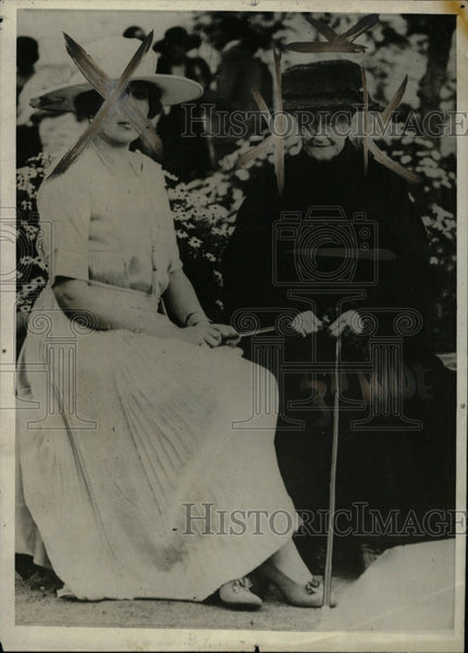 1920 Press Photo Eugenie executive president France - RRW82499 - Historic Images