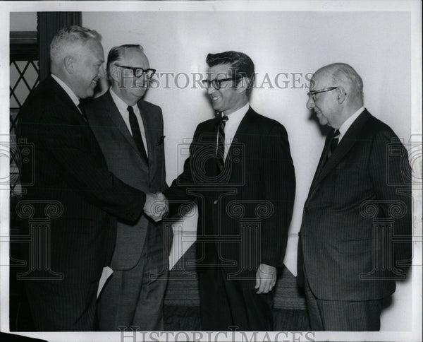 1969 Press Photo MARSHALL W. TURKIN SYMPHONY MANAGER - RRW84051 - Historic Images