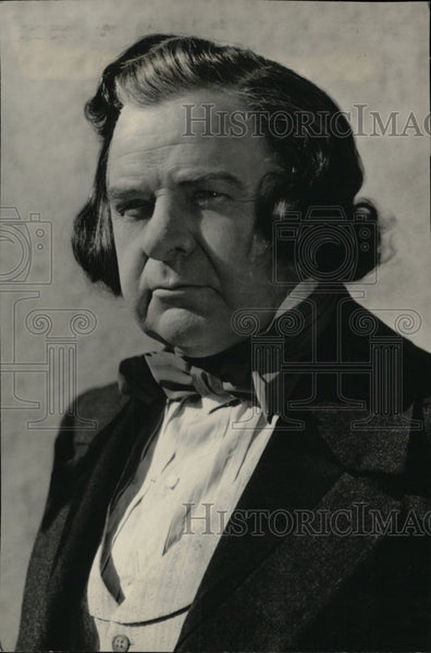 1940 Press Photo Actor Gene Lockhart - RRW95757 - Historic Images
