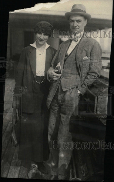 1924 Press Photo John Drinkwater divorce Kathleen star - RRW96577 - Historic Images