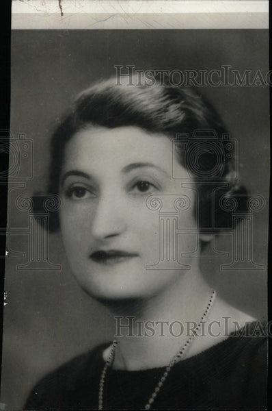 1934 Press Photo Nettie Rosenstein American Designer - RRW96613 - Historic Images
