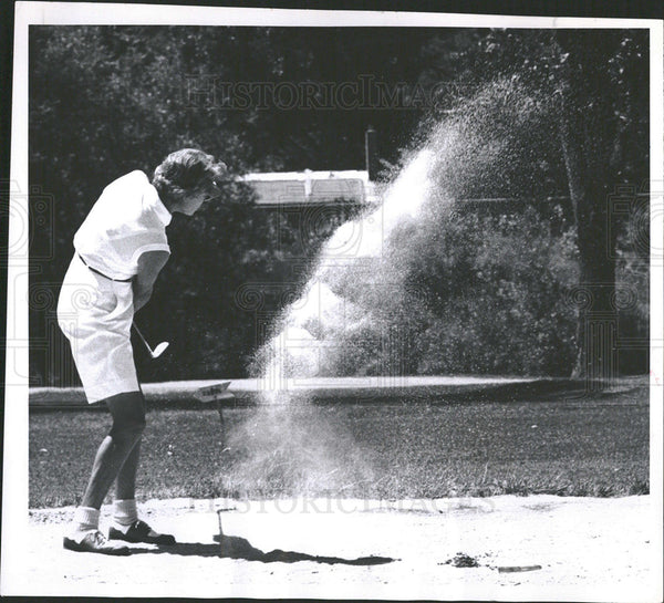 1956 Green Gobles Country Club Helen Hyman - Historic Images