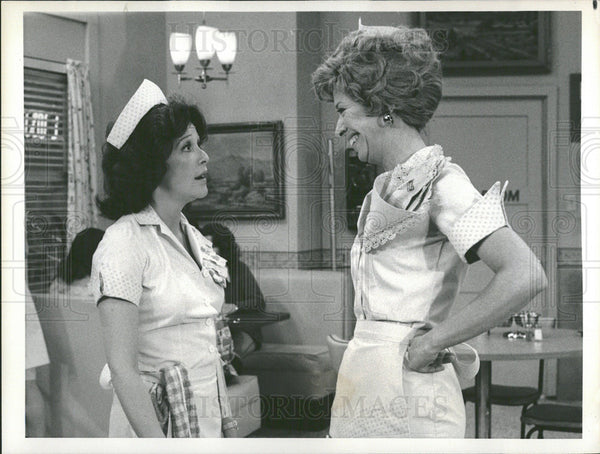 1976 Press Photo Linda Lavin in TV Show Alice - Historic Images