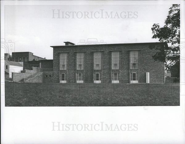 1938 Press Photo Community House In Fenton Michigan - Historic Images