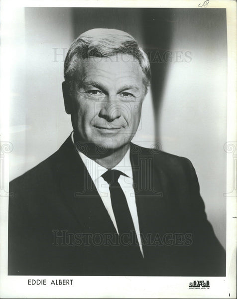 1969 Press Photo Entertainer Eddie Albert Portrait - Historic Images