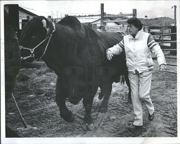 1977 Press Photo Cherokee Ranch Sedalia - Historic Images