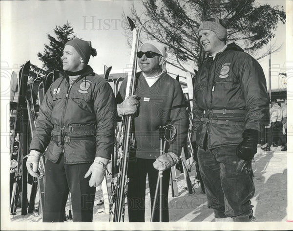1966 Press Photo Wilmot Ski School director Helmut Bill - Historic Images