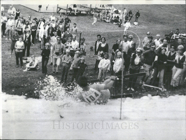 1969 Press Photo Fox River Grove Seventh Summer Slalom - Historic Images