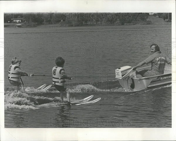1979 Press Photo Water Skiing Motor Sports  - Historic Images