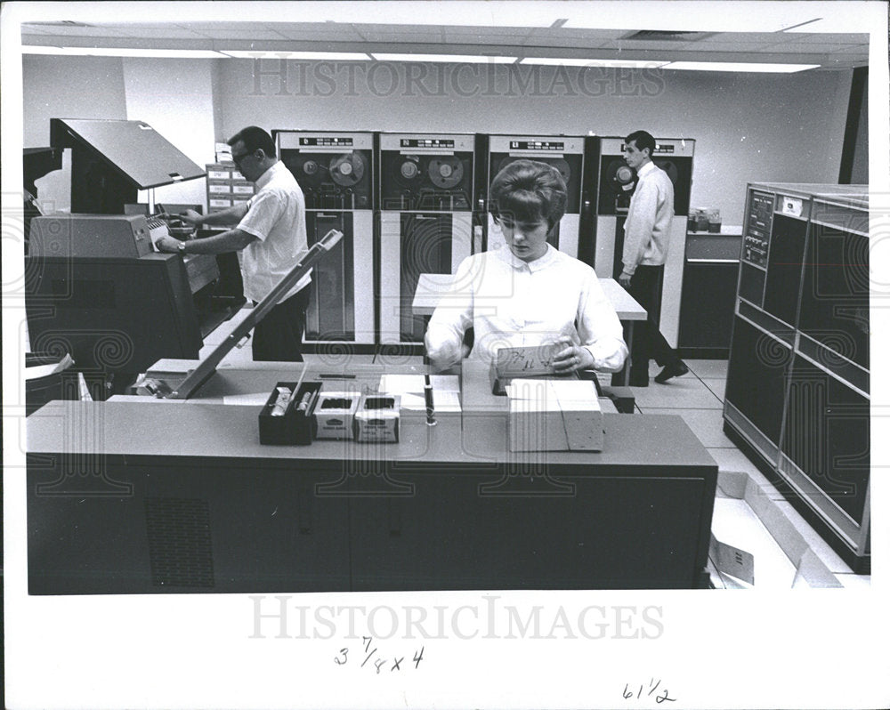 1966 Press Photo Social Research Institution Bldg - Historic Images