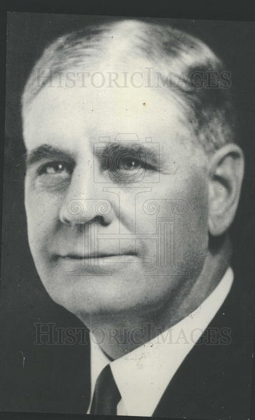 1930 Utah Governor George Wern - Historic Images