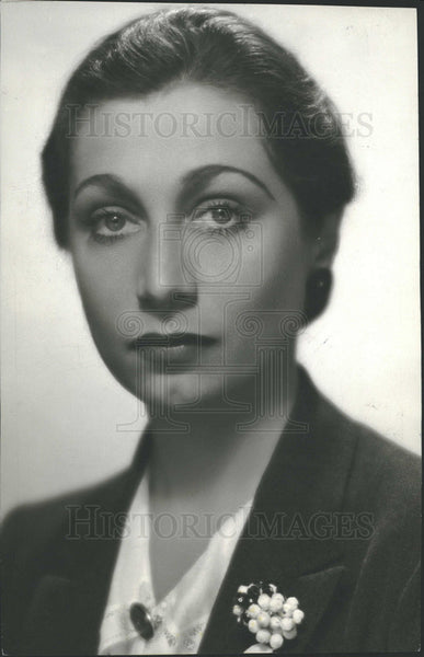 1932 Press Photo Aline Mac Mohan May Daniels Russell  - Historic Images