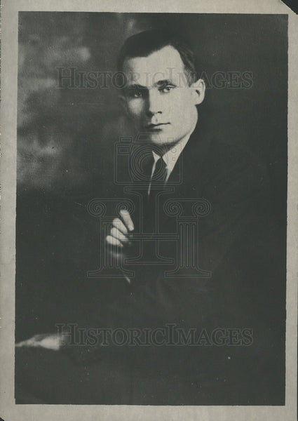 1925 Paul McGee Chief Radio William Expel - Historic Images