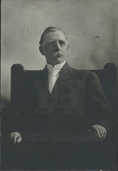 1917 Press Photo Leddy State Auditor died  - Historic Images