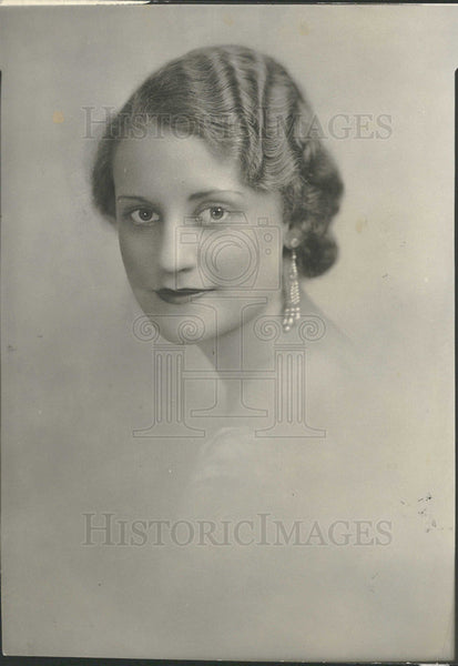 1933 Press Photo Ann Morrison American Actress. - Historic Images