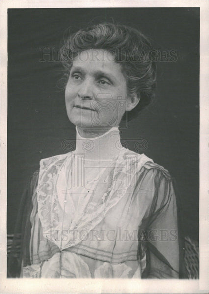 1921 Mrs. Charles Evans Hughes Lawyer Wife - Historic Images