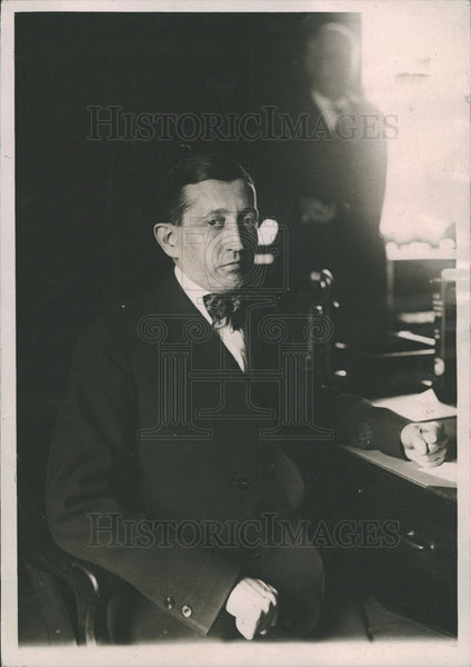 1921 Press Photo Hays Washington Dead Postmaster desk - Historic Images