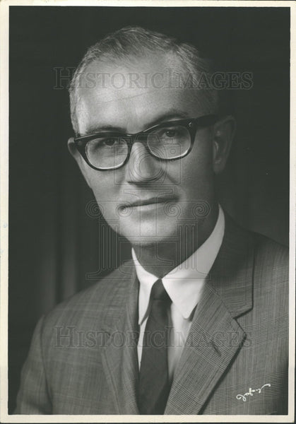 1969 Press Photo Edwin Alexander Anderson Jr United  - Historic Images
