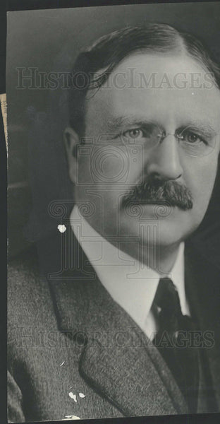 1923 Ex-mayor Hylan New York heart attack - Historic Images