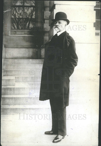 1908 Press Photo Senator Henry Cabot Lodge - Historic Images