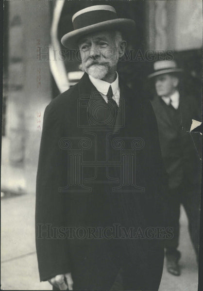 1916 Press Photo U.S. Senator Henry Cabot Lodge - Historic Images
