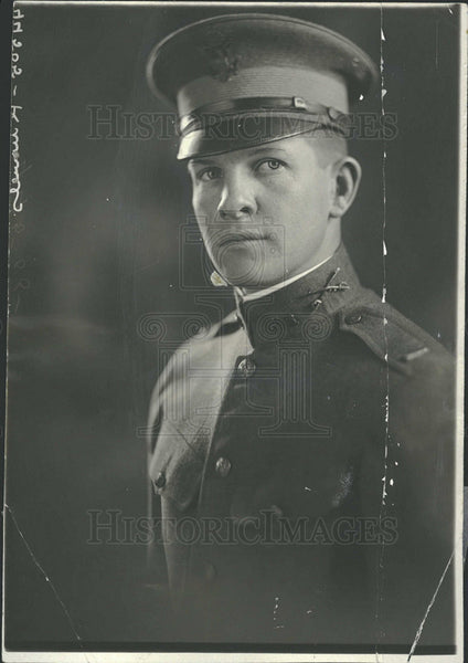 1918 Press Photo Lieutenant Edward Knowles Attorney - Historic Images
